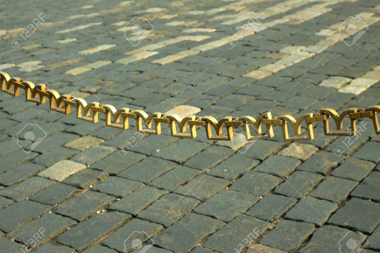 Picture of: Decorative Chain Link Fence Hangs On The Red Square In Moscow Stock Photo Picture And Royalty Free Image Image 23876556