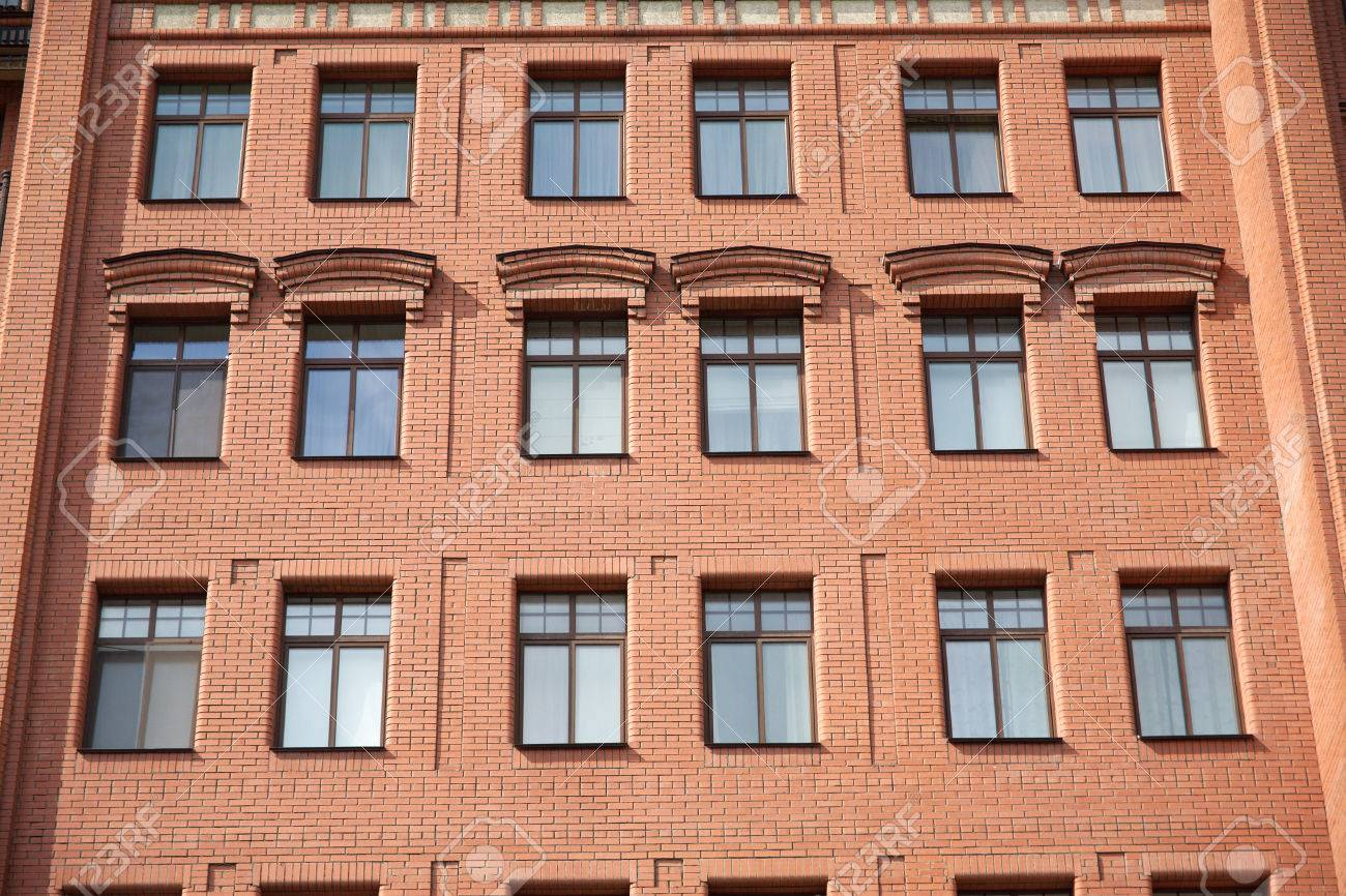 Brick Apartment Building Window simple apartment building front view divercity of windows and design