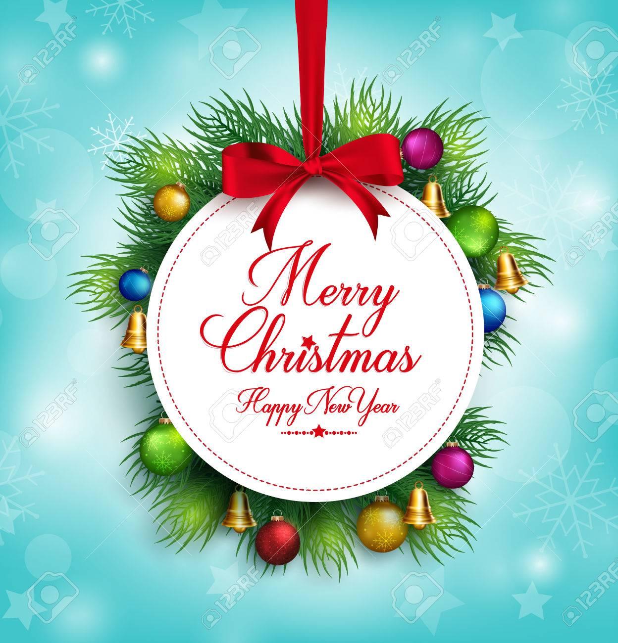 Frohe Weihnachten Grüße.Stock Photo