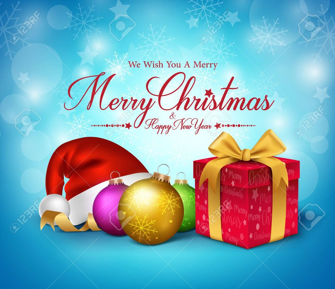 Grüße Frohe Weihnachten.Stock Photo