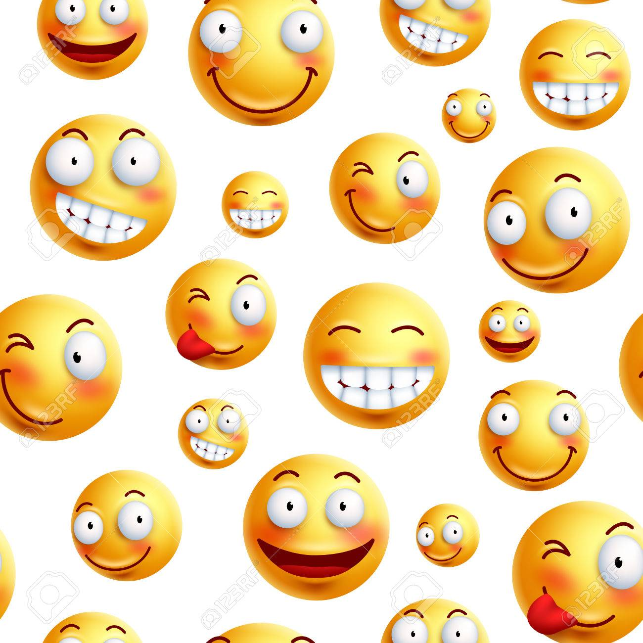 Smiley face pattern vector background continuous endless or smiley face pattern vector background continuous endless or seamless smileys pattern with funny facial voltagebd Image collections