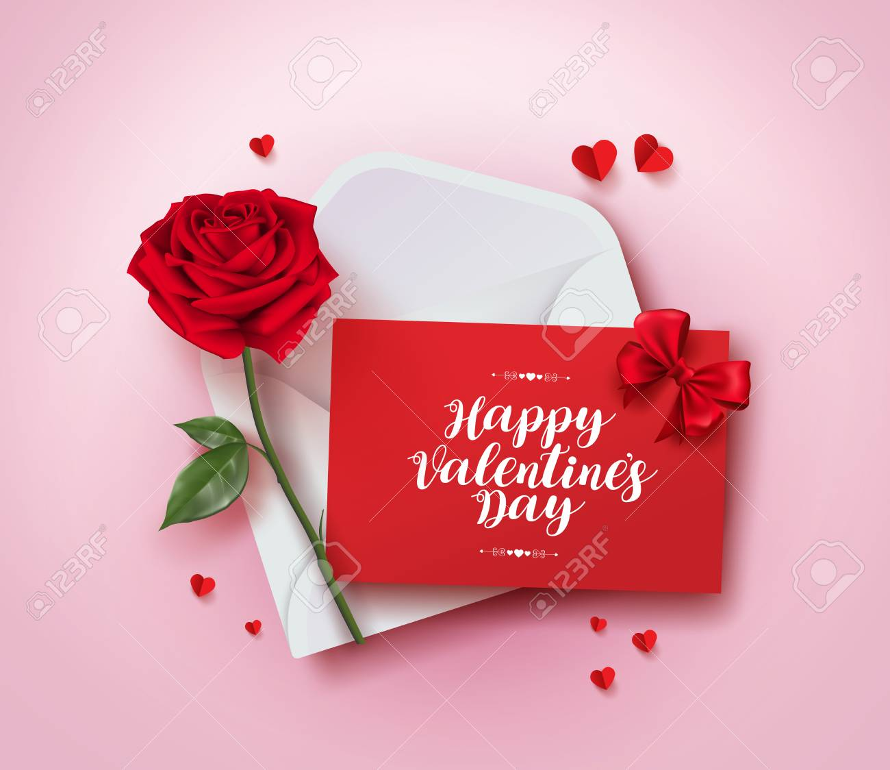 Happy valentines day greeting card royalty free cliparts vectors happy valentines day greeting card stock vector 93394256 m4hsunfo