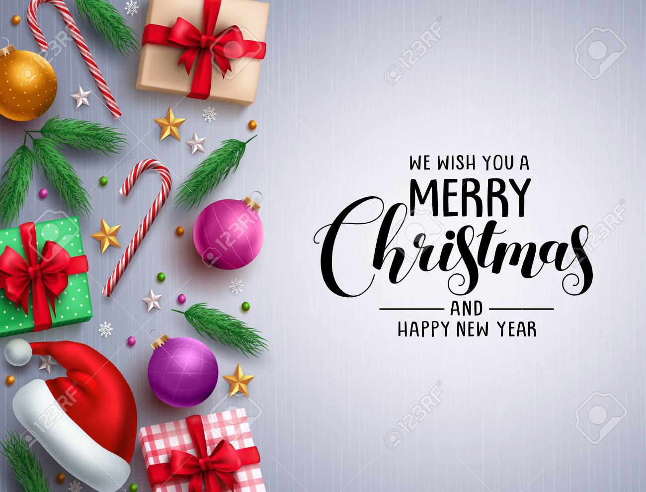 Christmas Vector Background Free.Christmas Vector Background Template Merry Christmas Greeting