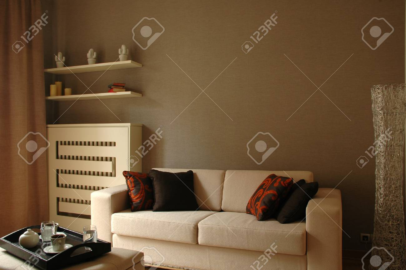 Living room of a new modern home Stock Photo - 15451683