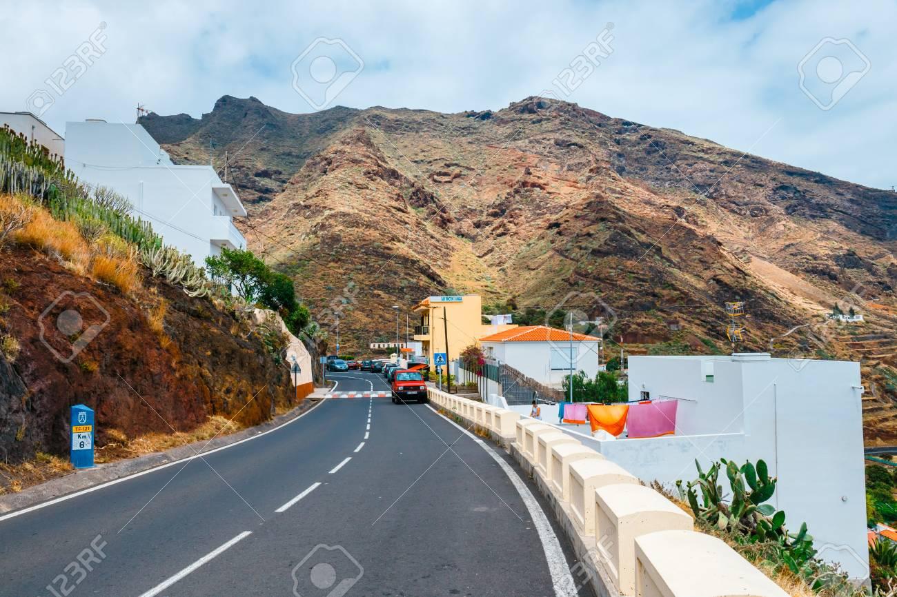 Igueste De San Andres Tenerife Spain June 06 2015 Winding