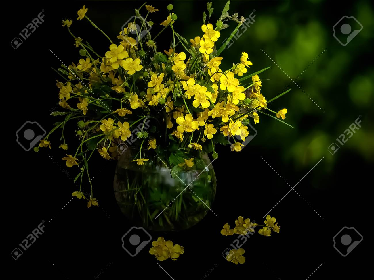 Image result for bouquet of kingcups