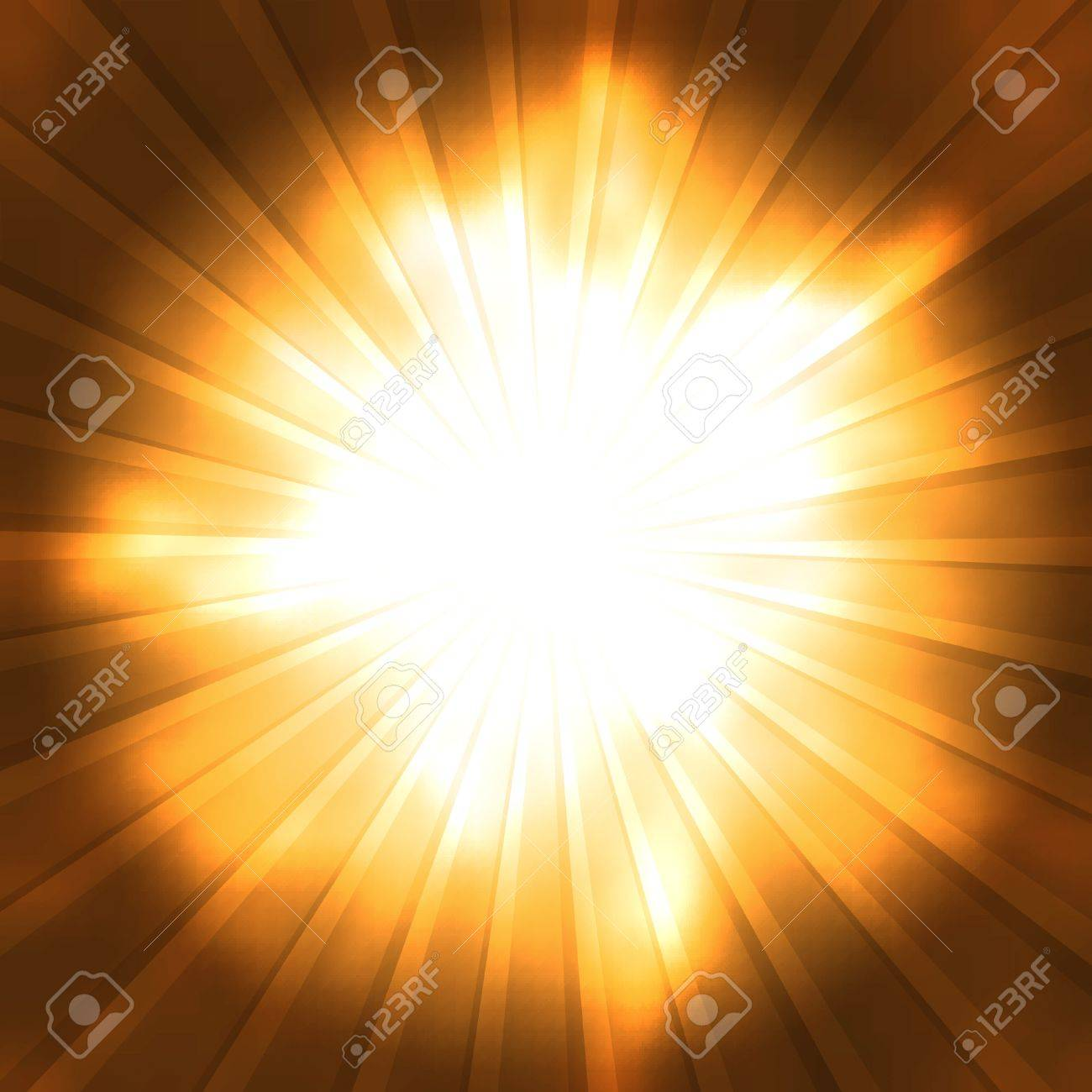 Background image center - Orange Rays Converge Toward The Center Abstract Background Stock Vector 11620577