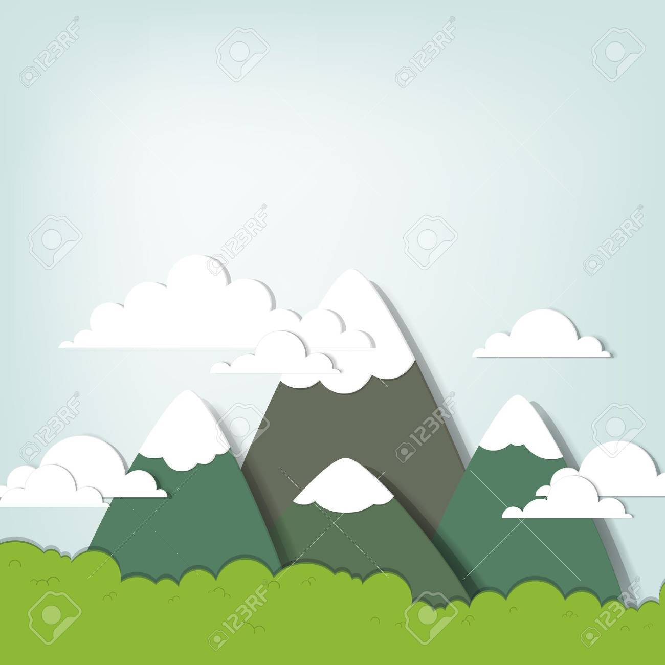 Mountain landscape - 15144382