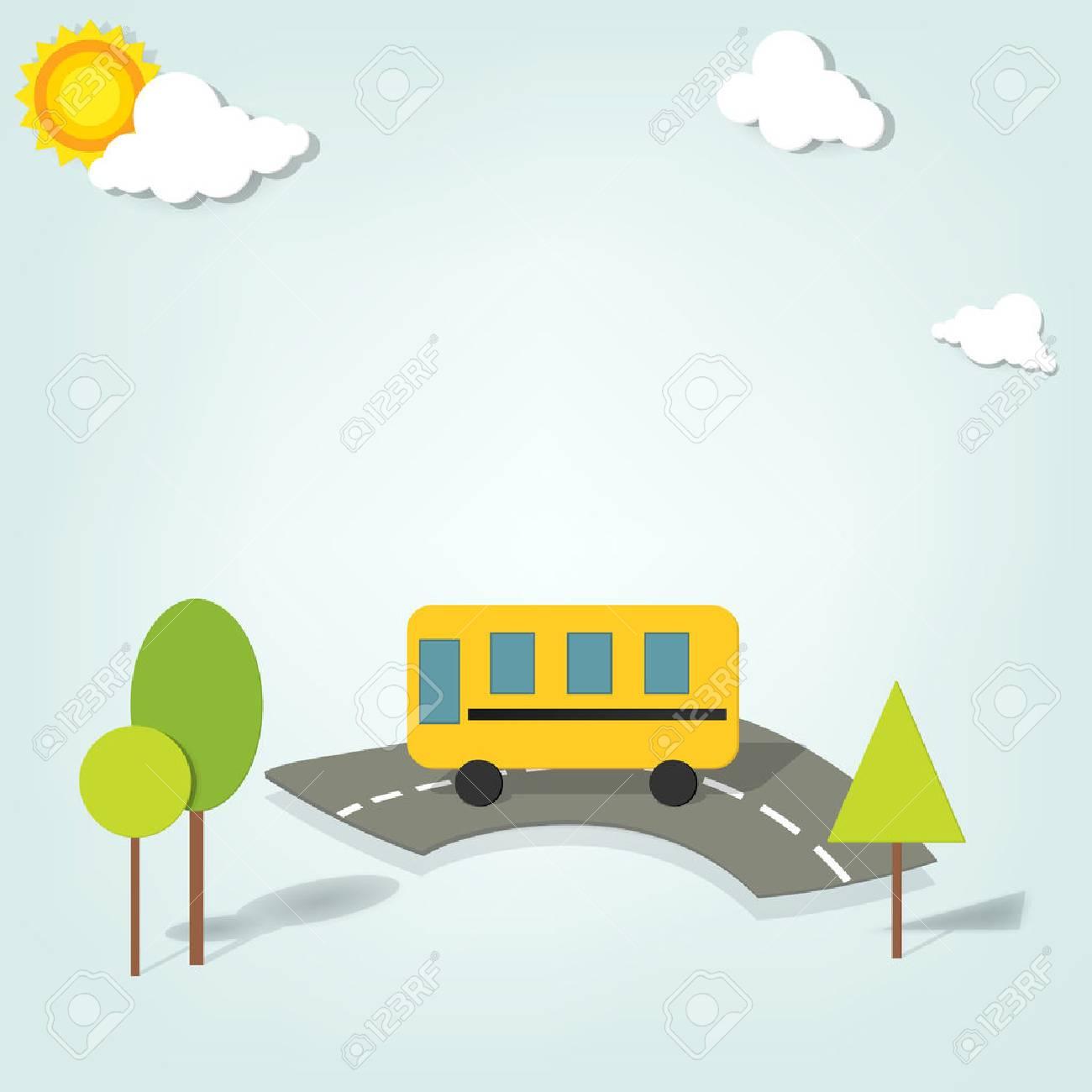 vector school bus Stock Vector - 22439658