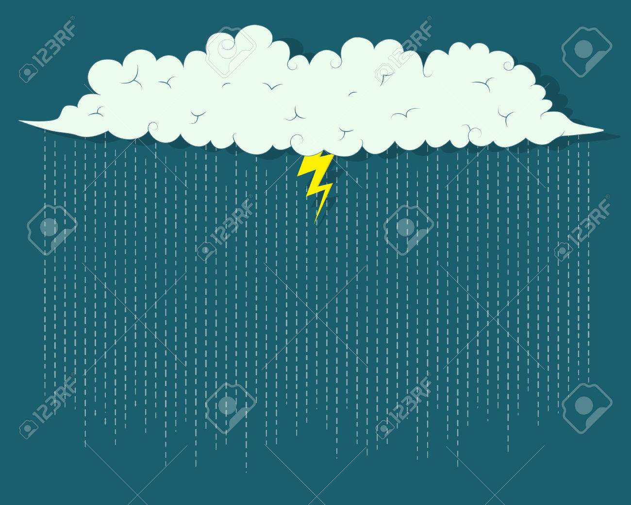 storm cloud Stock Vector - 22959174