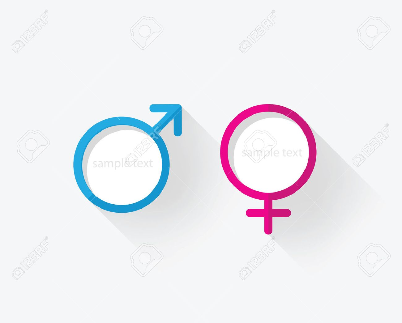 Male Female Gender Symbol Icon Royalty Free Cliparts Vectors And