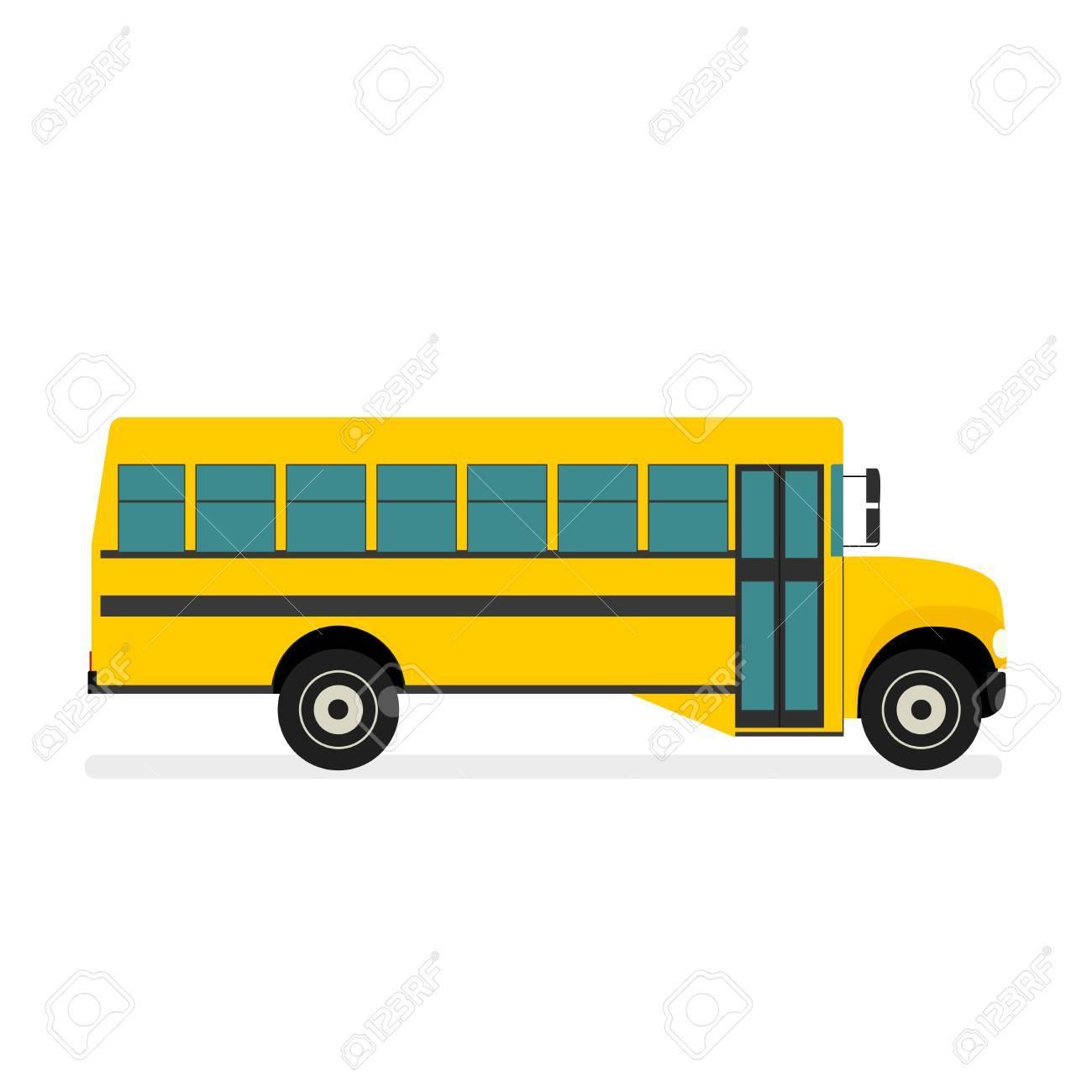 school bus vector royalty free cliparts vectors and stock rh 123rf com school bus vector ai school bus vector black and white
