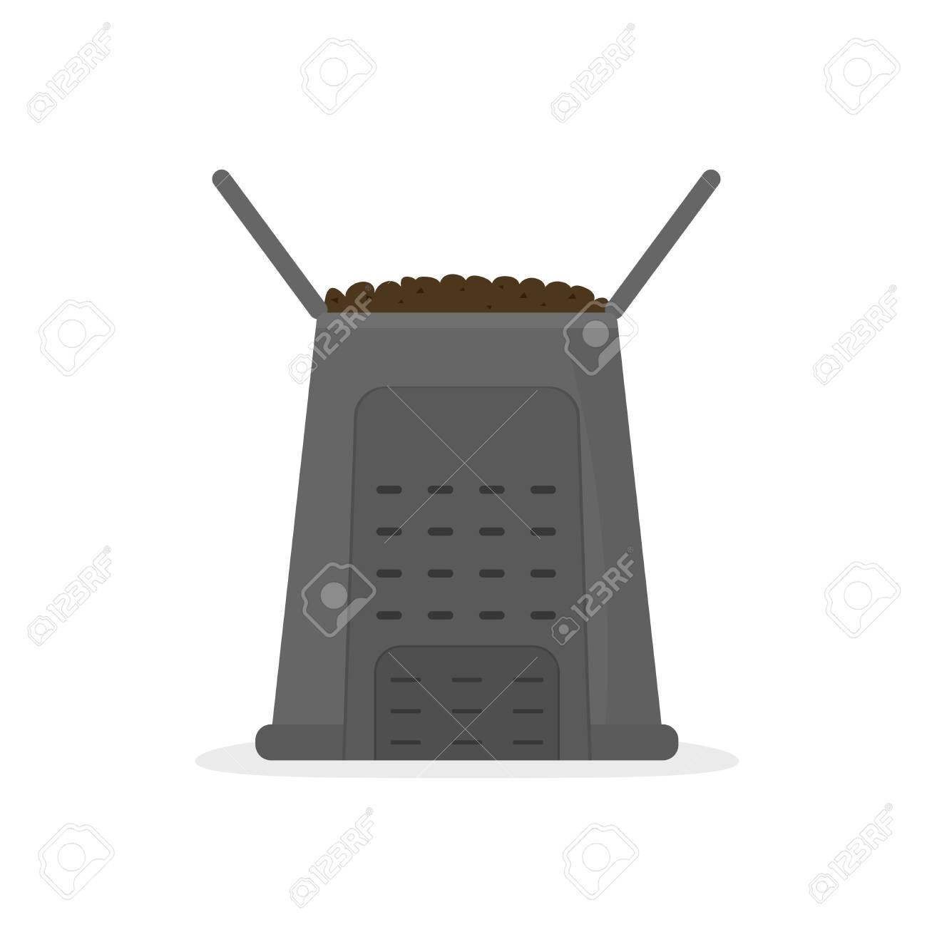 compost bin icon - 86990150