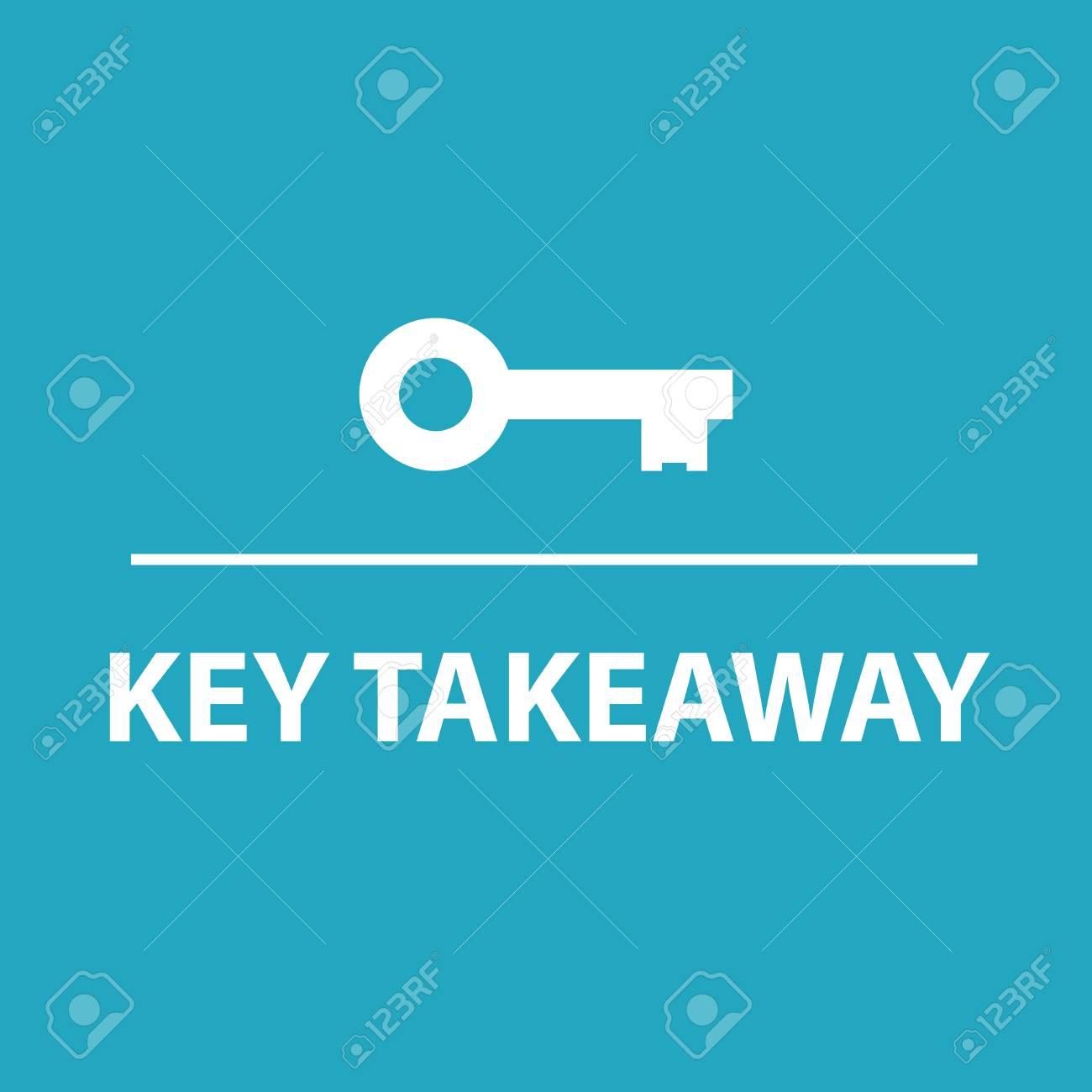 Key takeaway concept - 103506175