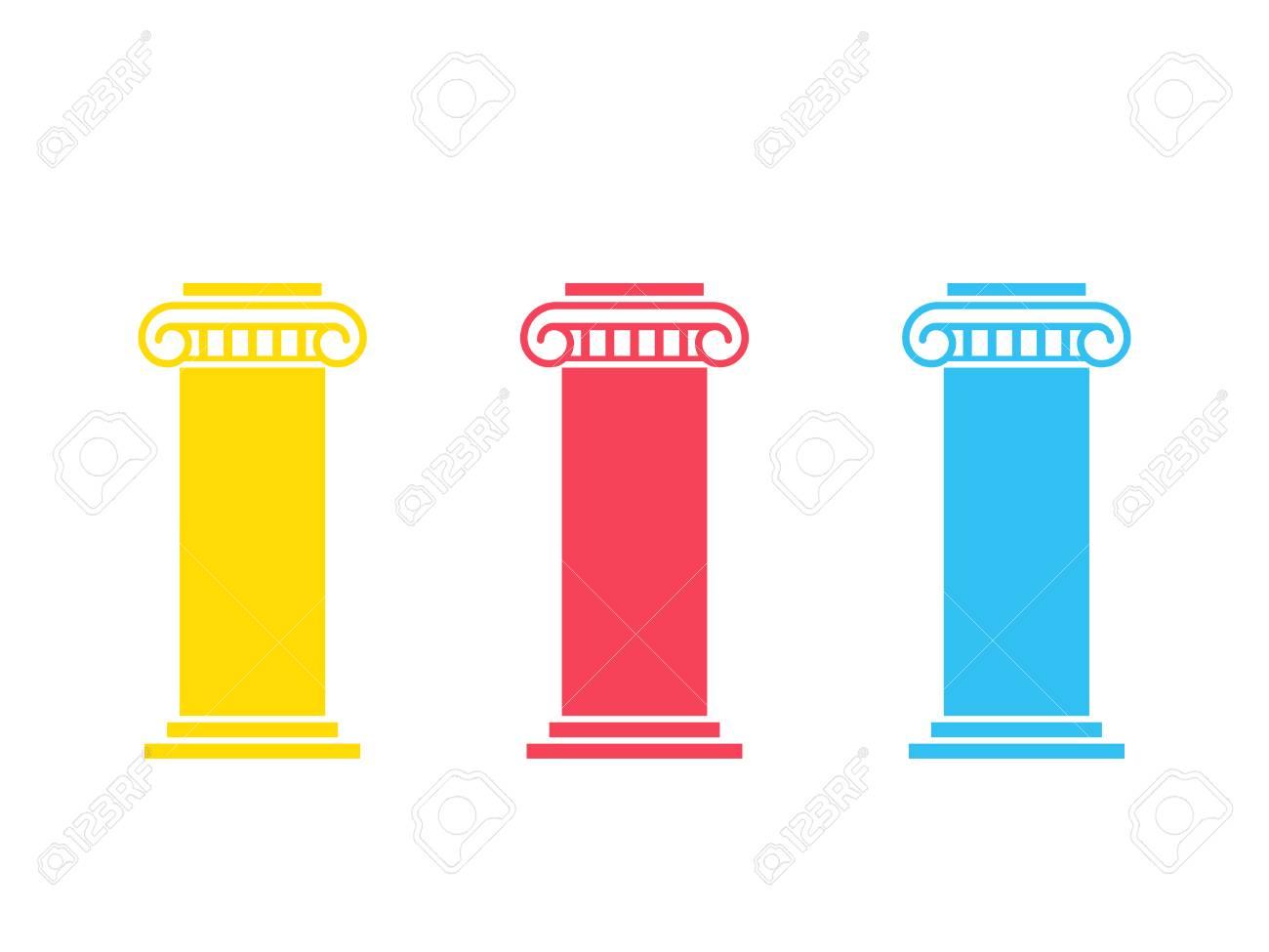 Three pillar diagram - 104602083