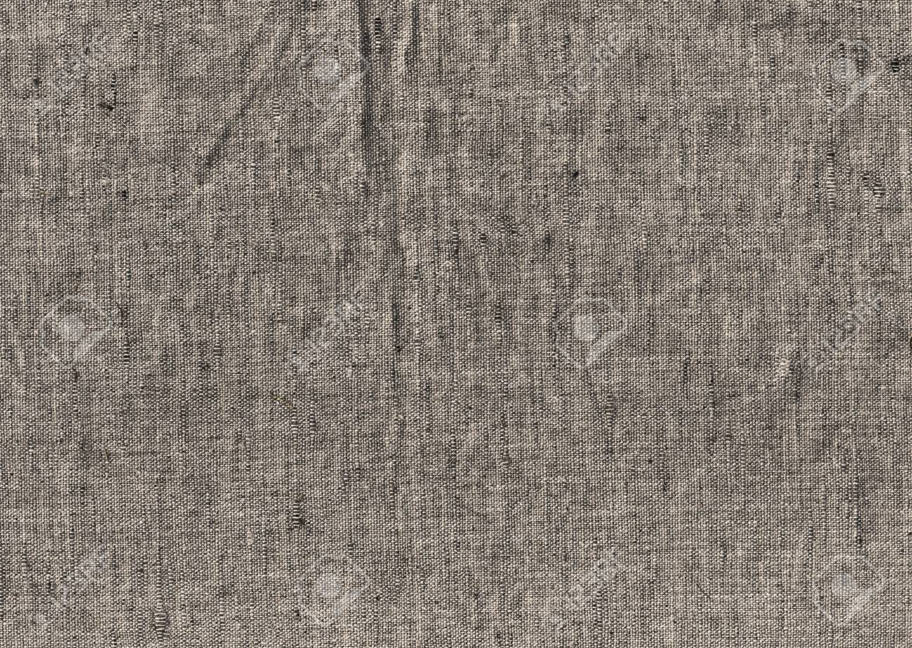 Piece of old cloth linen close up, background Stock Photo - 17665555