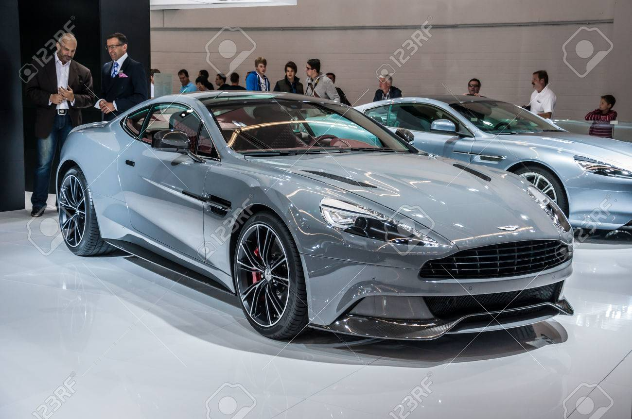 Frankfurt Sept 21 Aston Martin Vanquish Coupe Presented As