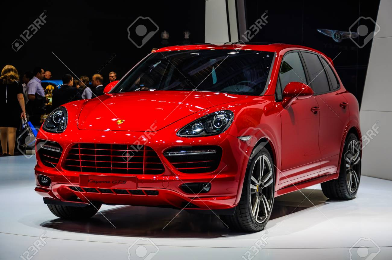 Moscow Russia Aug 2012 Porsche Cayenne Gts 2 Generation Presented Stock Photo Picture And Royalty Free Image Image 43036578