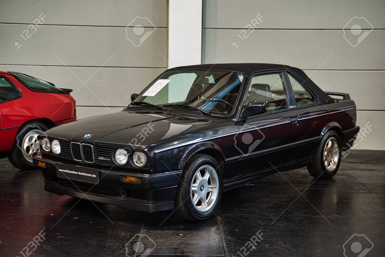 Friedrichshafen May 2019 Black Bmw 318i E30 Tc2 1990 Cabrio Stock Photo Picture And Royalty Free Image Image 128621140
