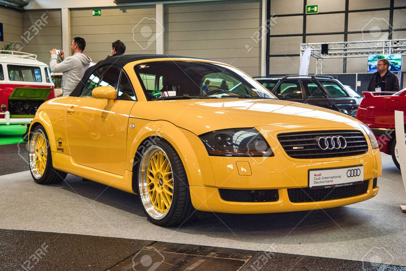 Friedrichshafen May 2019 Yellow Audi Tt Quattro Roadster Type Stock Photo Picture And Royalty Free Image Image 142491084