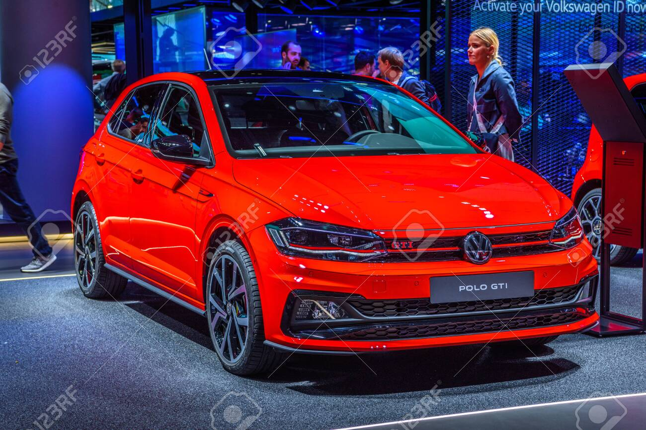 Frankfurt Germany Sept 2019 Red Volkswagen Vw Polo Gti Hatchback Stock Photo Picture And Royalty Free Image Image 142584050