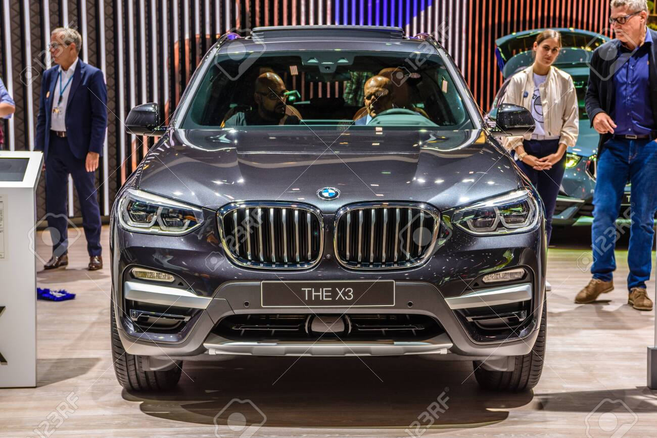 Frankfurt Germany Sept 2019 Gray Bmw X3 G01 Hybrid Electric Stock Photo Picture And Royalty Free Image Image 142584187