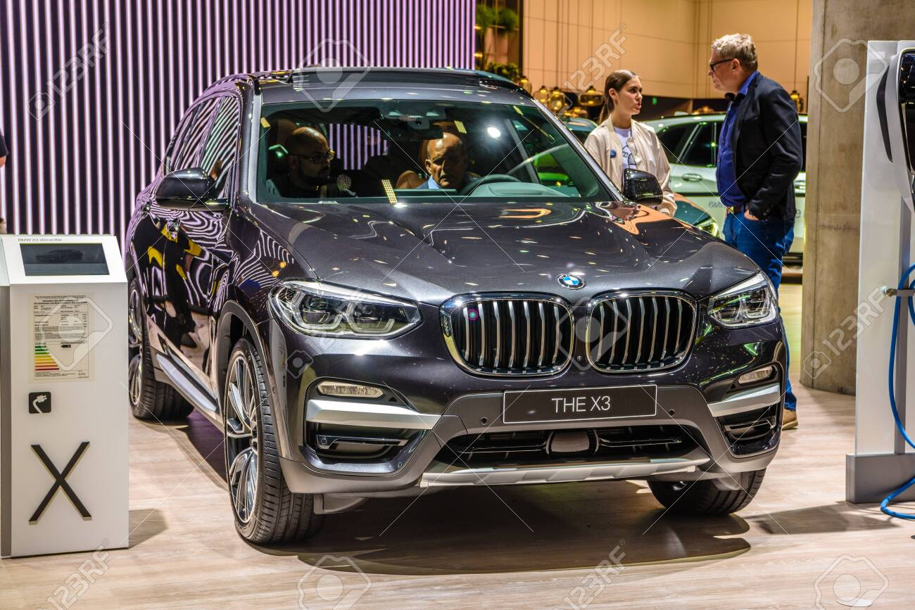 Frankfurt Germany Sept 2019 Gray Bmw X3 G01 Hybrid Electric Stock Photo Picture And Royalty Free Image Image 142584195