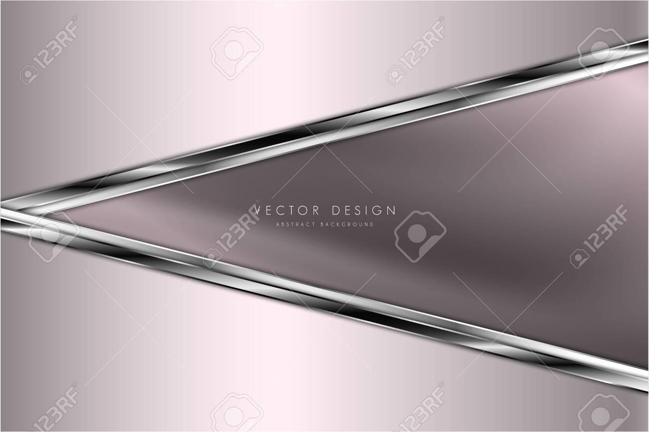 Metallic background.Luxury of pink and silver.Silk texture elegant metal modern design. - 151914292