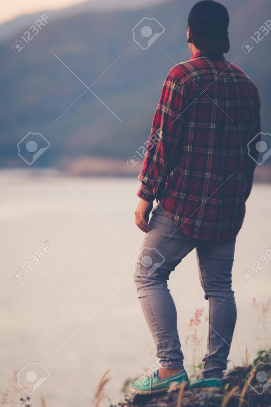 Man sad alone sad man