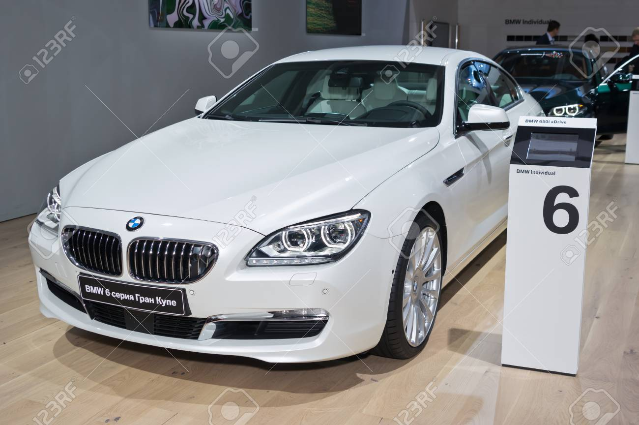 6 Series Gran Coupe >> Moscow September 2 Bmw 6 Series Gran Coupe At The Moscow International