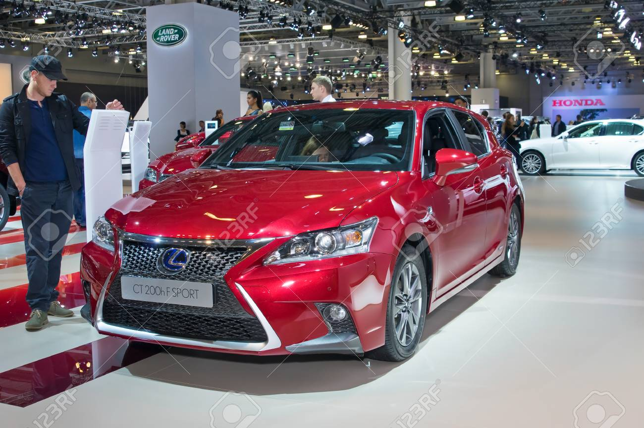 Lexus Ct F Sport >> Moscow September 2 Lexus Ct 200h F Sport At The Moscow International