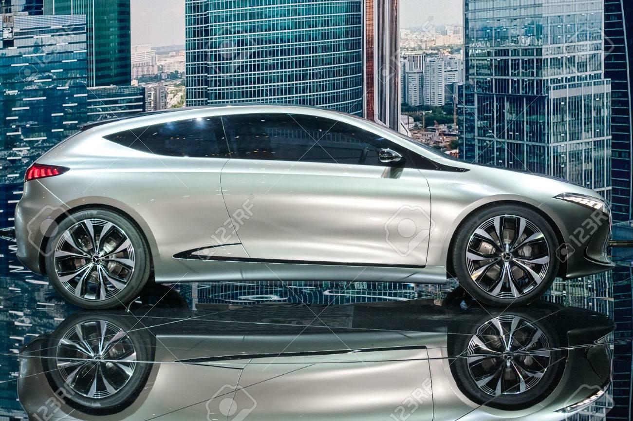 Frankfurt-September 20: Mercedes-Benz Concept EQA At The Frankfurt ...