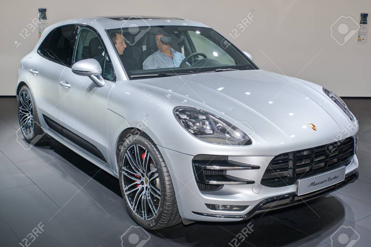 Frankfurt September 20 Porsche Macan Turbo At The Frankfurt Stock Photo Picture And Royalty Free Image Image 87088145