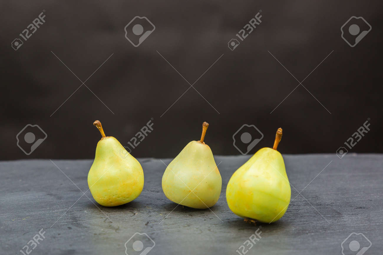Fragrant handmade soap in form of juicy pears. - 171802185