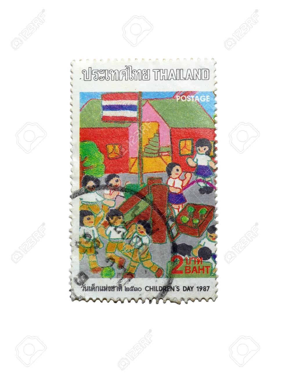 Thailand Stamp Stock Photo - 13656280