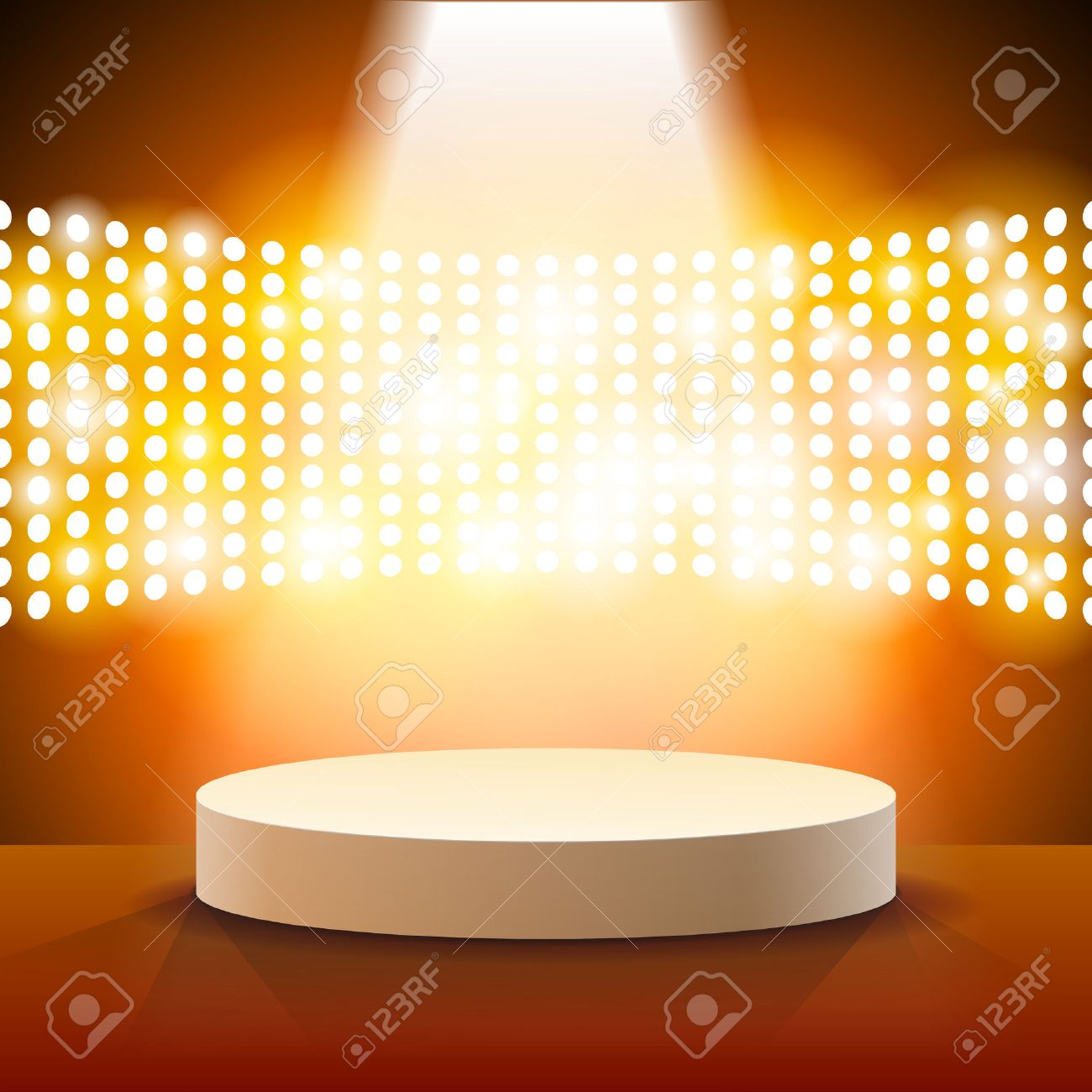 Stage Lighting Background with Spot Light Effects - vector illustration Stock Vector - 36070566 & Stage Lighting Background With Spot Light Effects - Vector ...