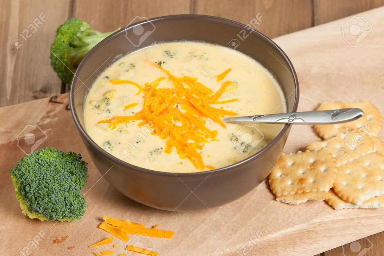 brokkoli käse suppe