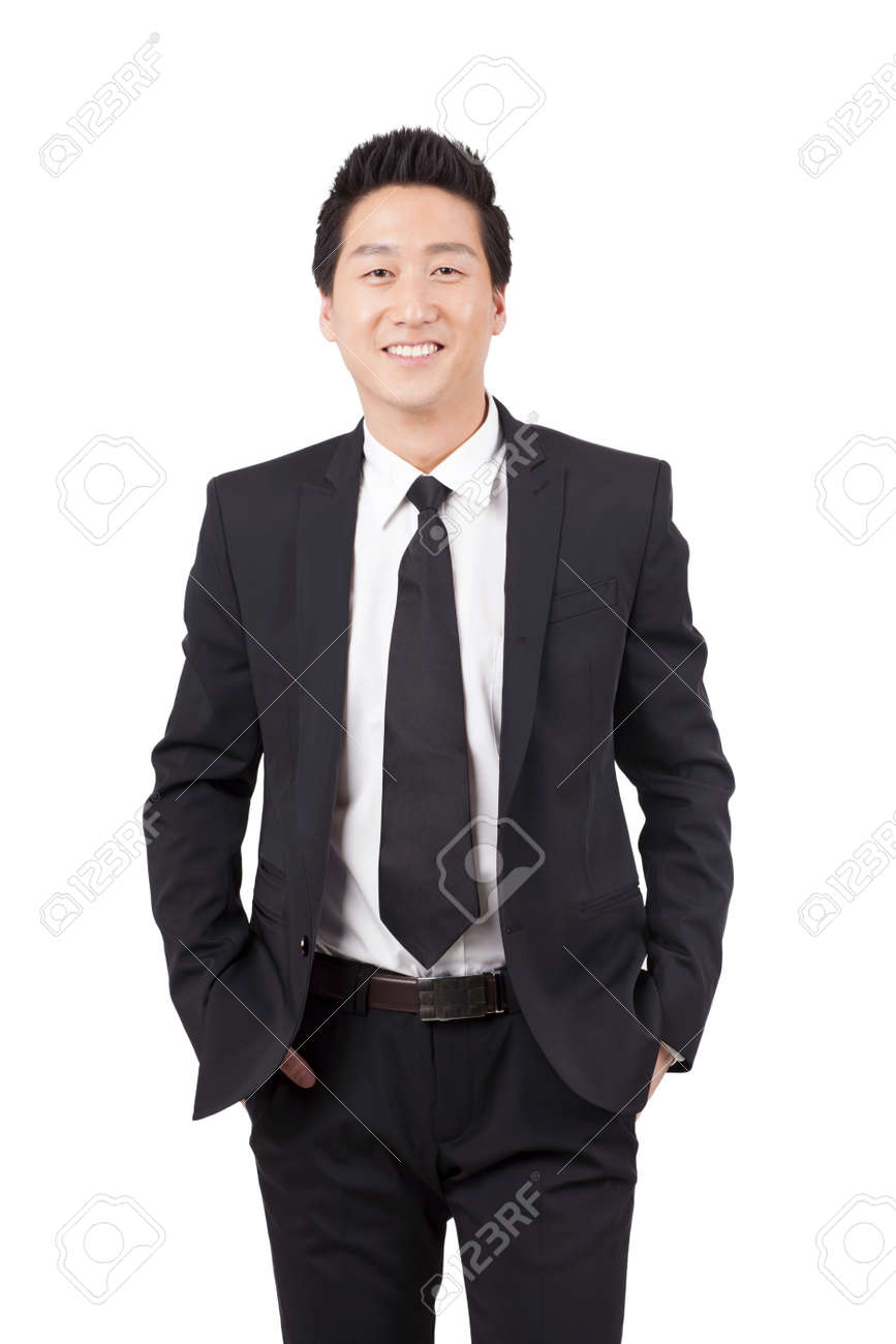 Portrait of a Confident Businessman - 157411065