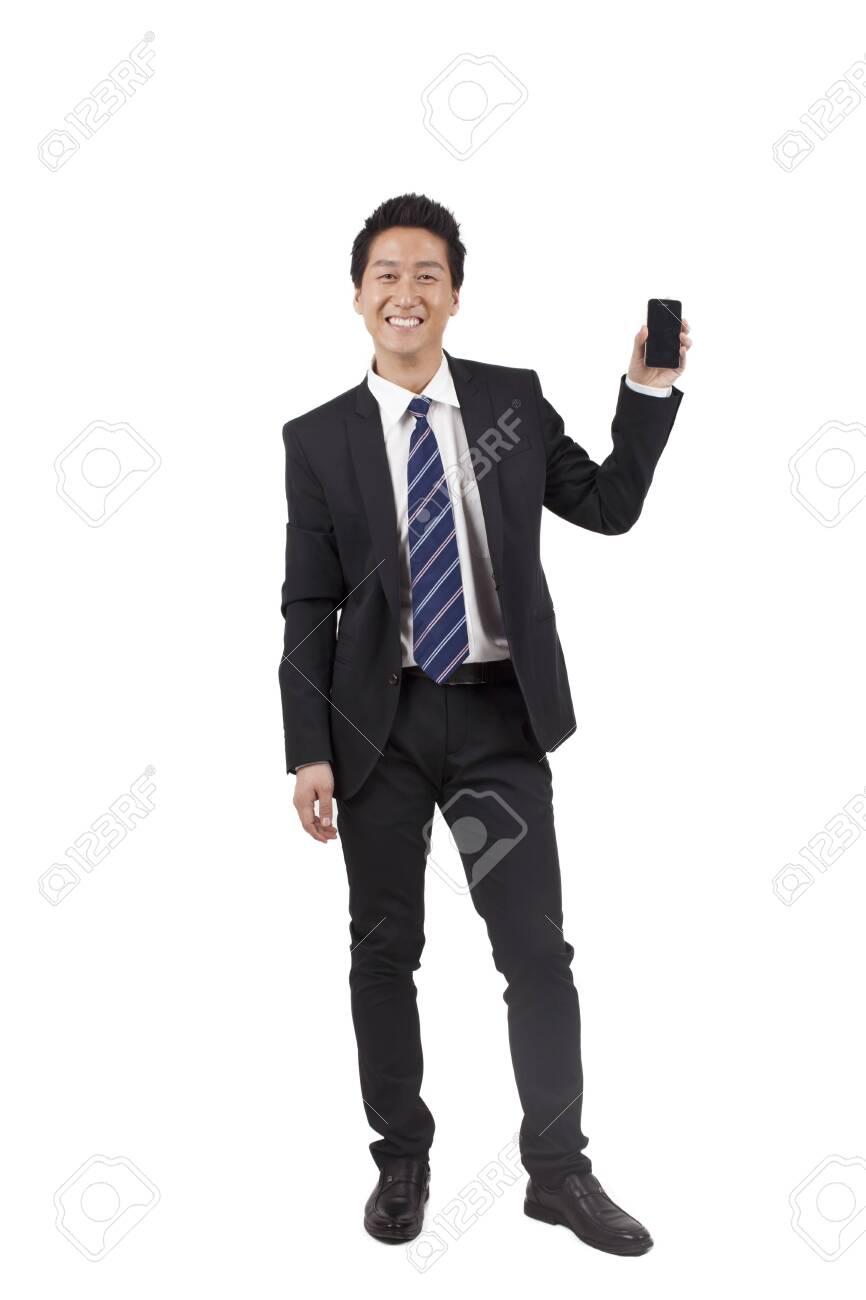 Businessman on the phone - 157421270