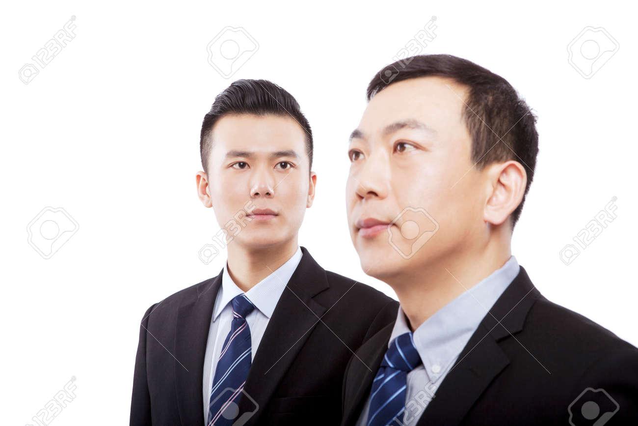 Oriental business man portrait - 157163919