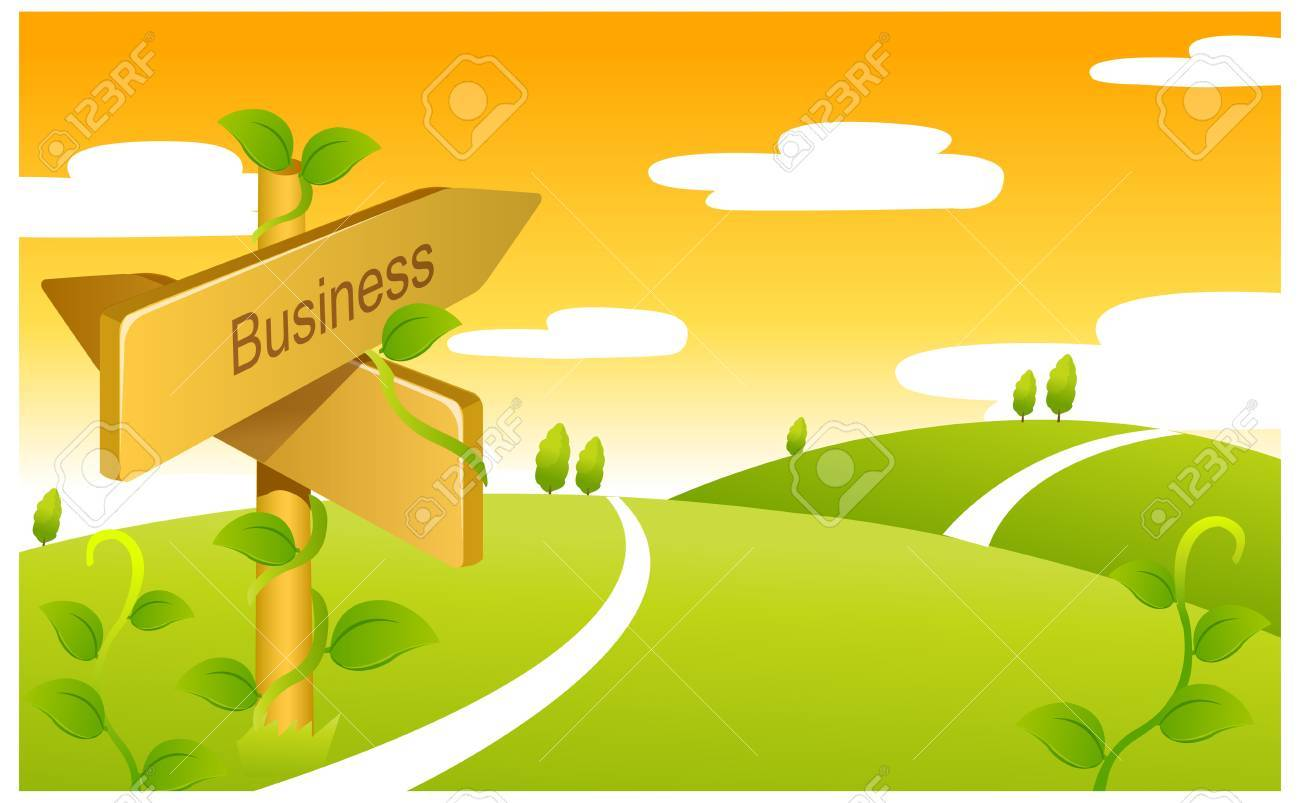 This Illustration Depicts A Young Child's Dream World. Business ...
