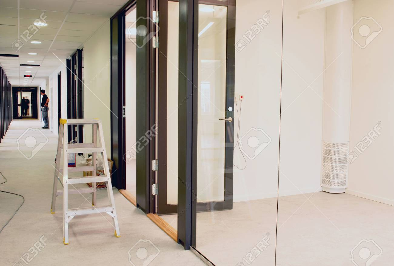 New office under construction Stock Photo - 3992294