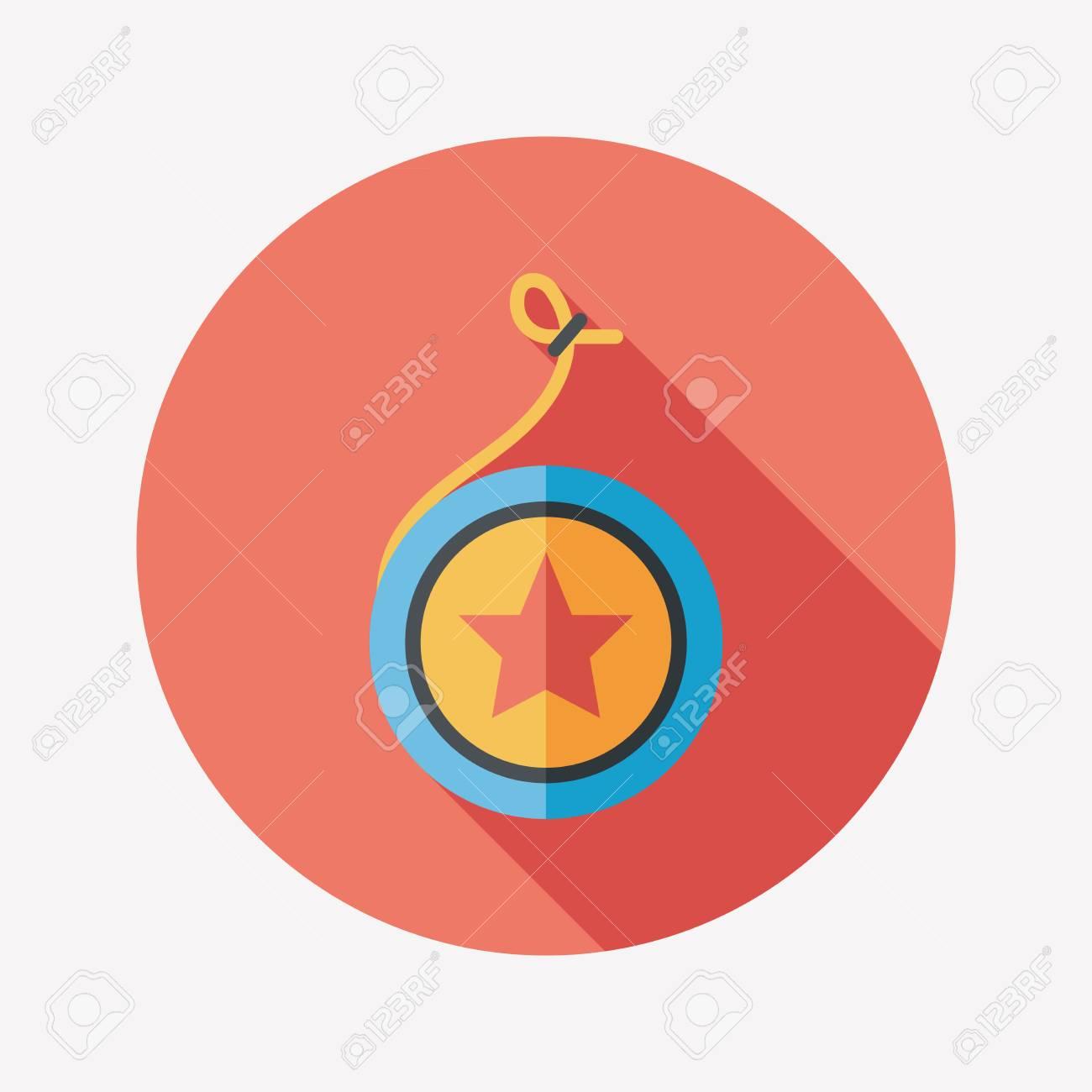Yo yo flat icon with long shadoweps 10 royalty free cliparts yo yo flat icon with long shadoweps 10 stock vector 31112605 buycottarizona Images