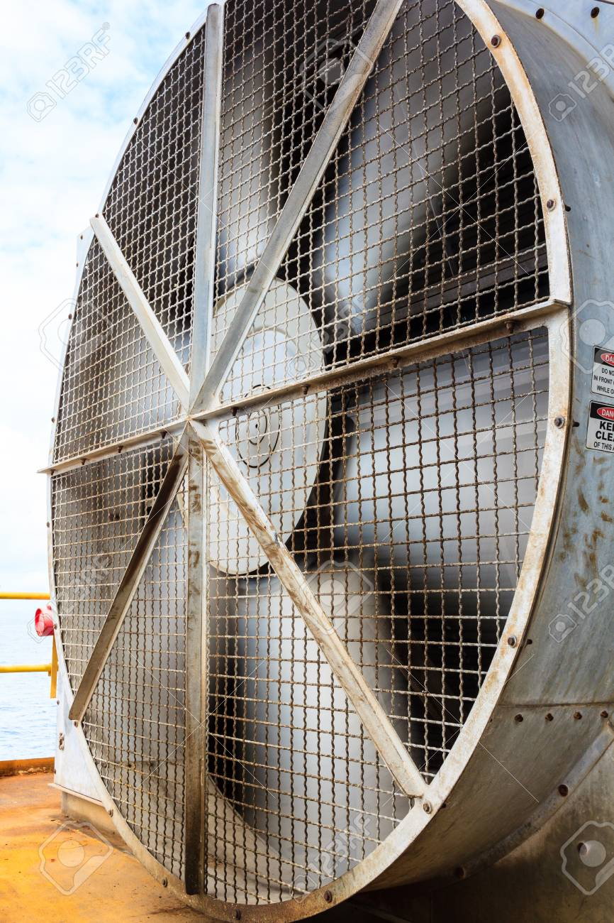 Ongekend Grote Industriële Koelventilator, Grote Ventilator In Fabriek GJ-11