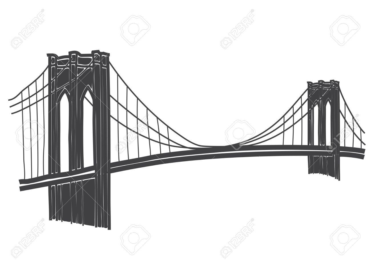 Illustration of brooklyn bridge new york royalty free cliparts illustration of brooklyn bridge new york stock vector 32365996 malvernweather Images