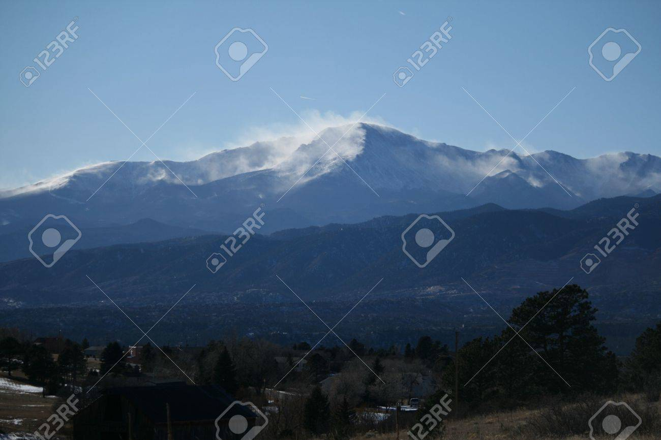 Pikes Peak Stock Photo - 5344078