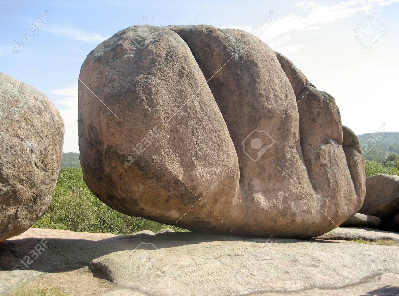 Huge Boulder at Elephant Rocks State Park - Missouri USA - 122470791