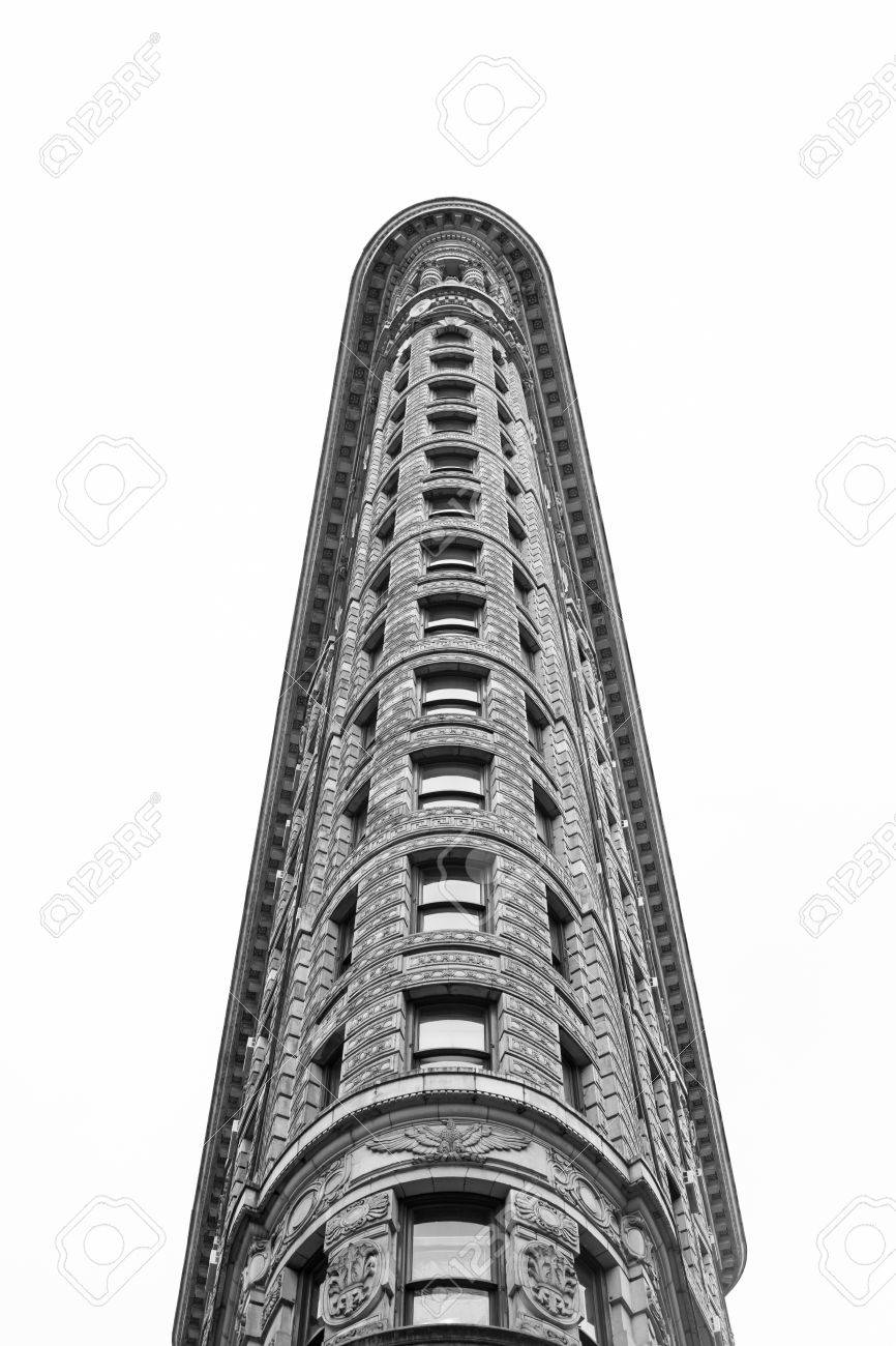 famous buildings black and white a unique perspective of the famous flatiron building in