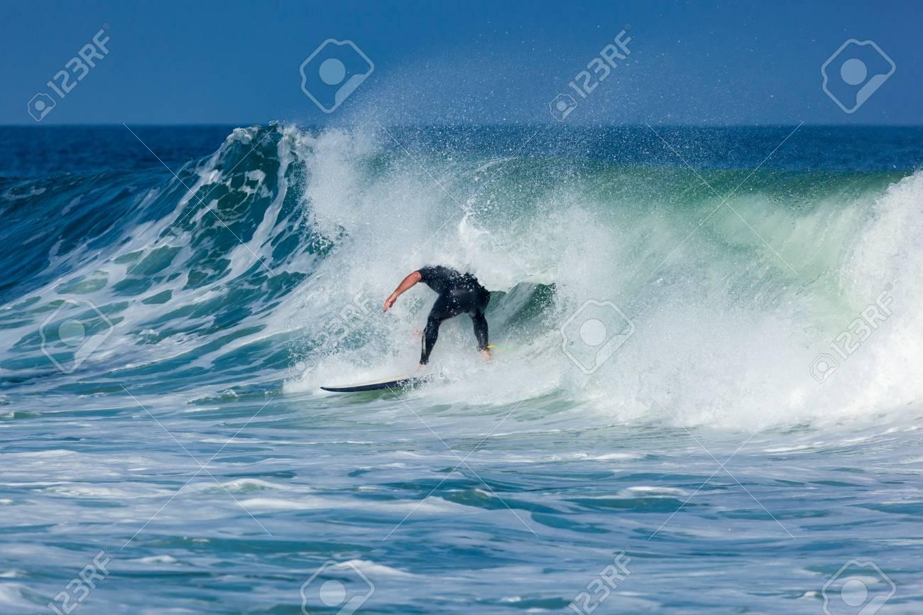 Deal New Jersey September 16 2017 Surfers Enjoy The Surfing