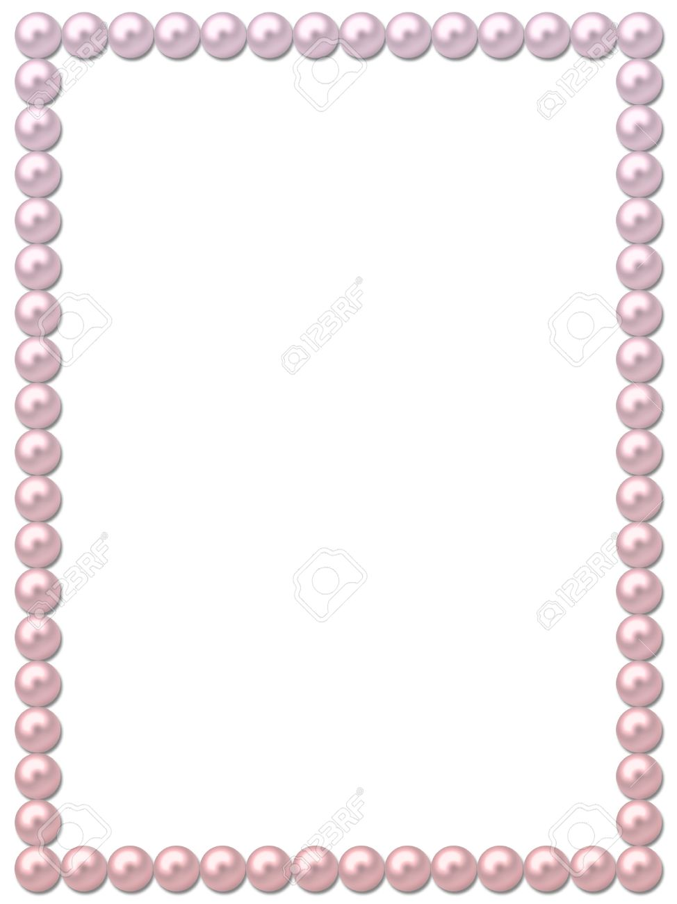 pearl picture frame Pearl Frame-necklace Stock Photo, Picture And Royalty Free Image ...